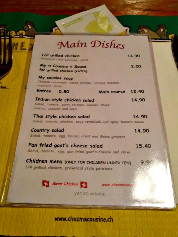 Restaurants j 39 habite gen ve - Chez ma cuisine geneve ...